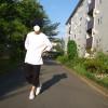 ポケツキルーズフィットクルーネックT(7分袖)を無難な着こなしではなくオシャレに着こなす方法